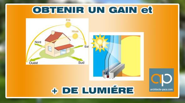 Gagner de la lumière naturelle dans le dessin de sa maison